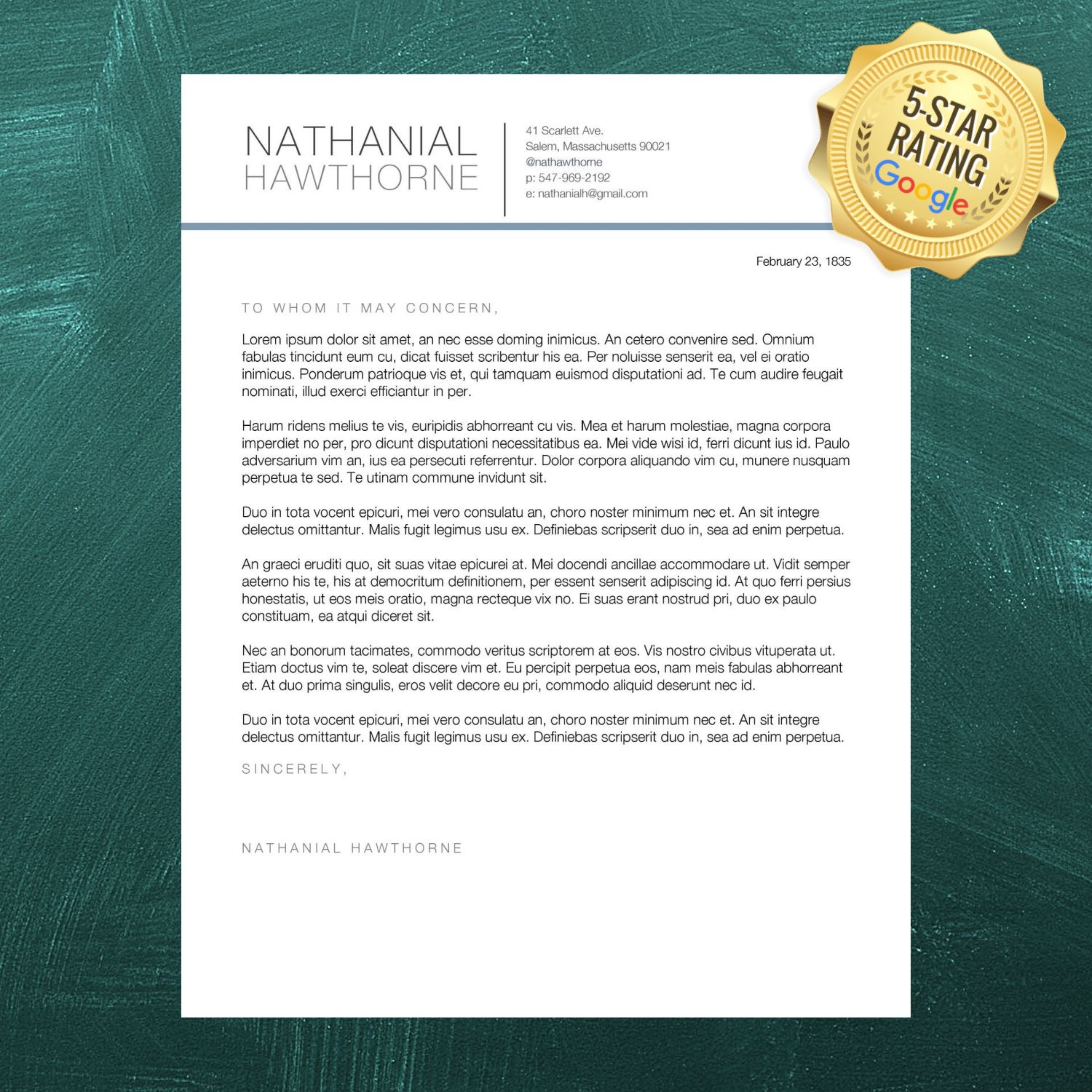 A well-crafted cover letter is the best way to tell employers who you are, what you've accomplished, and how you can add value to their company.